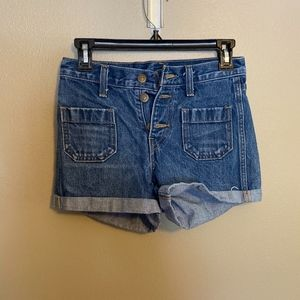 Orange Tab Levis Shorts